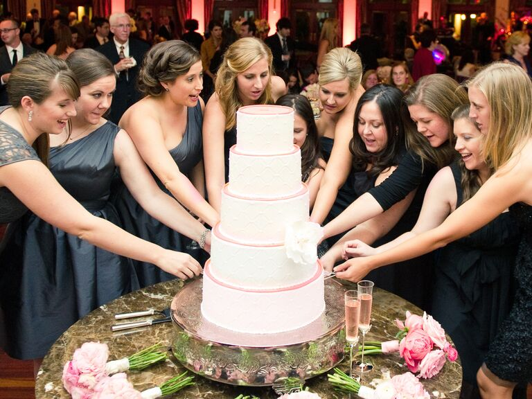 Cake pulls.
