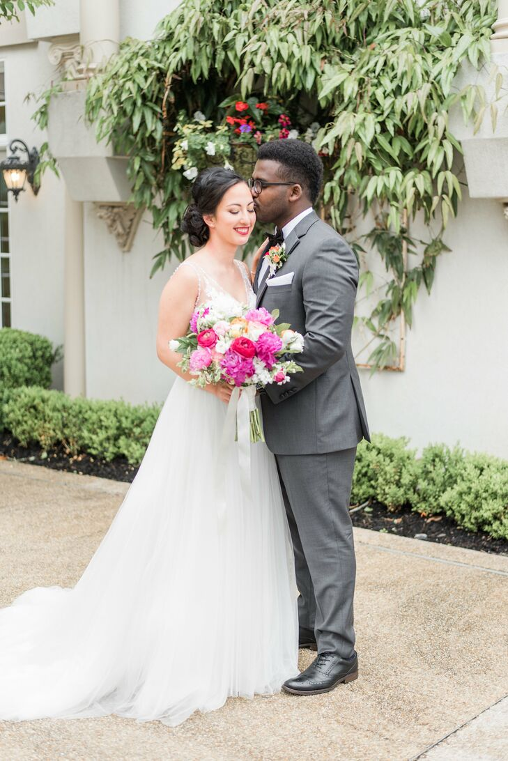 """The advice I would give to anyone who is getting married is to have fun,"" Jasmine says. ""The time goes by so quickly, so make sure you cherish each step."""
