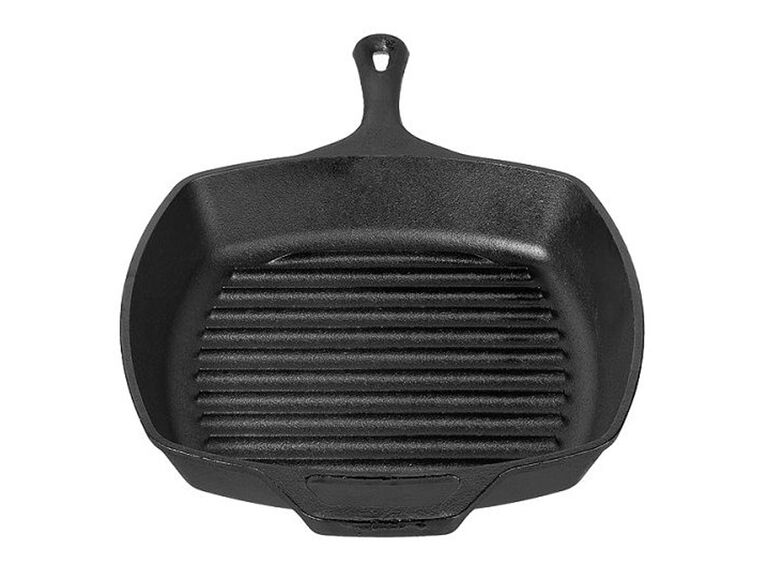 Lodge 10.5-inch cast iron square gril