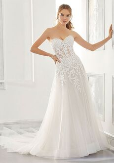 Morilee by Madeline Gardner/Blu Azalea A-Line Wedding Dress