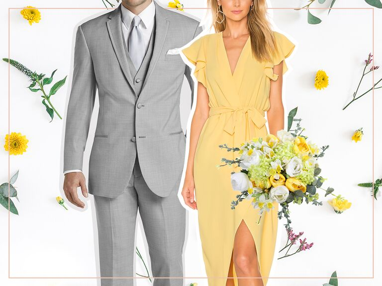 d4c4440026 male and female wedding looks for beach wedding