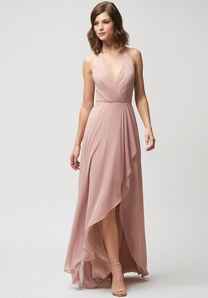 Jenny Yoo Collection (Maids) Farrah V-Neck Bridesmaid Dress