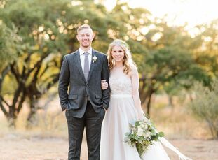 Looking to create a soft, elegant and comfortable feel for themselves and their guests, Brianna Dowling (22 and a worship leader) and Jonny Reeves (22