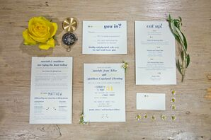 Whimsical Travel-Themed Invitations