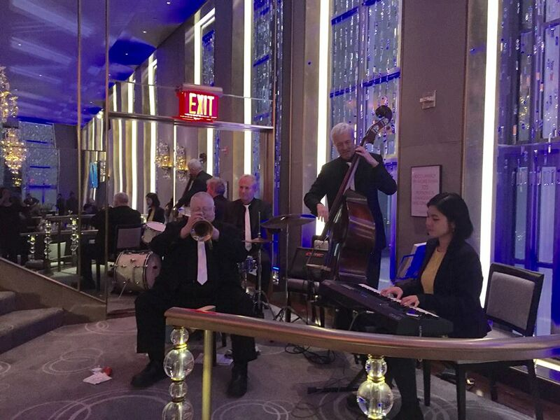 At Rainbow Room, NYC