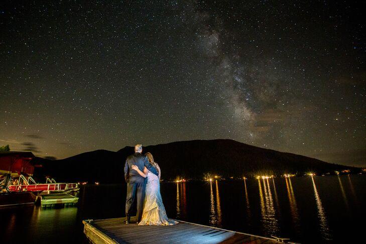 Amy and Mark in Grand Lake, Colorado