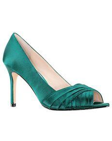 Nina Bridal Rhiyana_Oasis Satin Black, Blue, Ivory, Pink, Purple, Silver Shoe