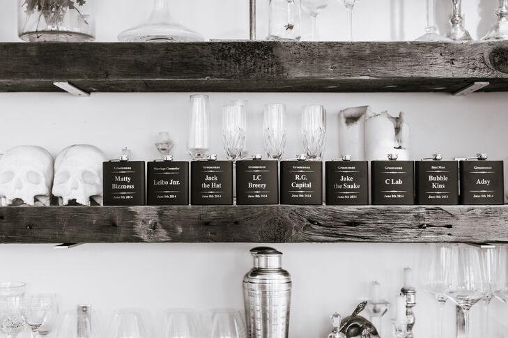 Personalized Flask Groomsmen Gifts