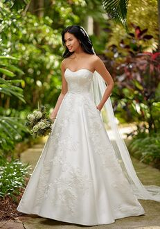 Essense of Australia D3064 A-Line Wedding Dress