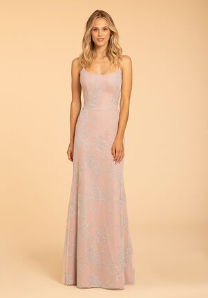 Hayley Paige Occasions 52007 Scoop Bridesmaid Dress