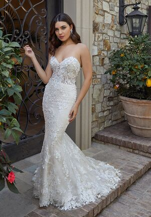 Casablanca Bridal Style 2444 Rebekah Mermaid Wedding Dress