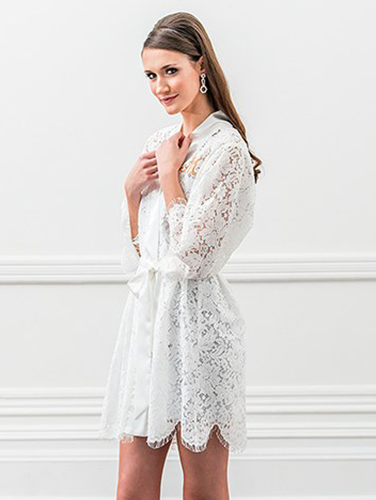 6e7bdc94af 32 Bridal Robes You ll Wear Way Past Your Wedding Day