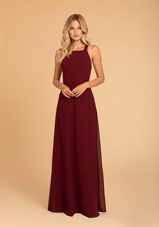 Hayley Paige Occasions 52013 Halter Bridesmaid Dress