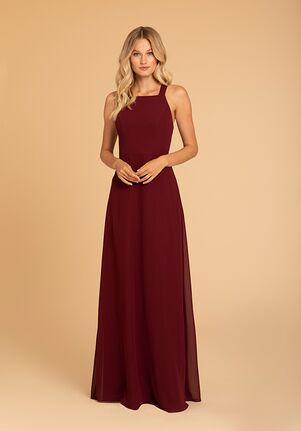 Hayley Paige Occasions 52013 Halter Bridesmaid Dress