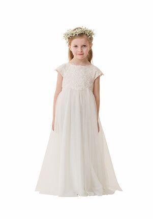 Bari Jay Flower Girls F5316 Ivory Flower Girl Dress