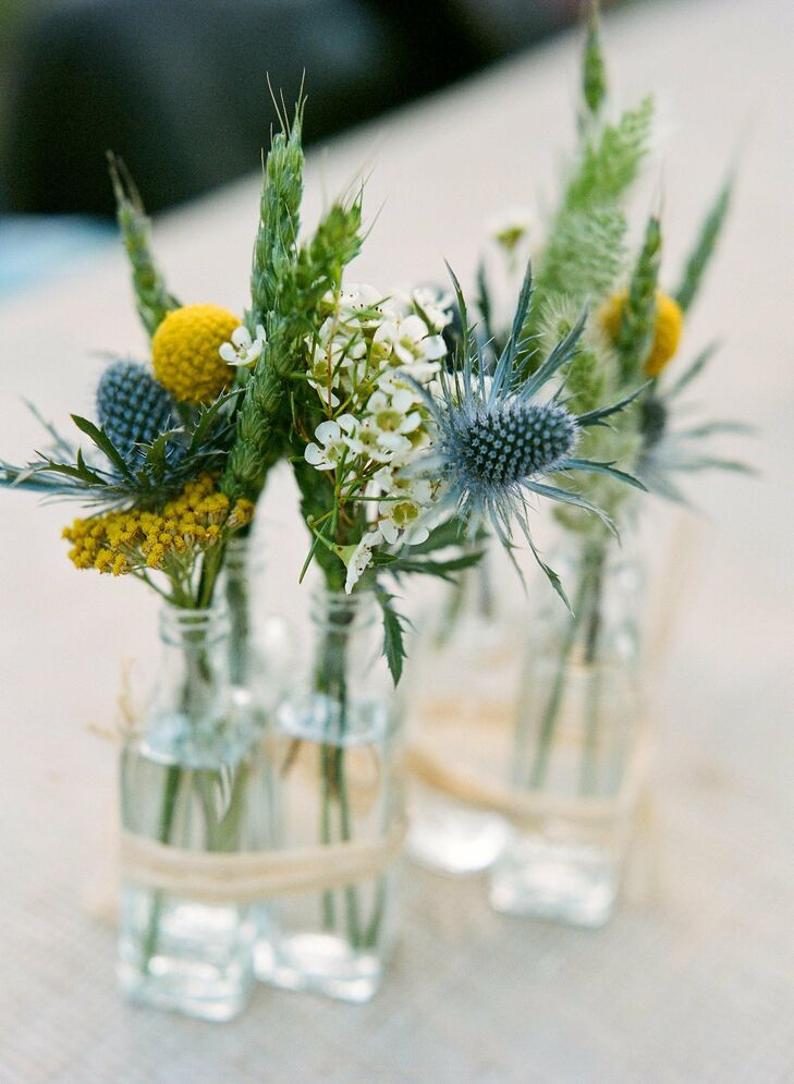 Small Rustic Centerpieces