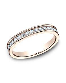 Benchmark 513550R Rose Gold Wedding Ring