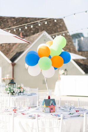 Eclectic Centerpieces Inspired by the Movie
