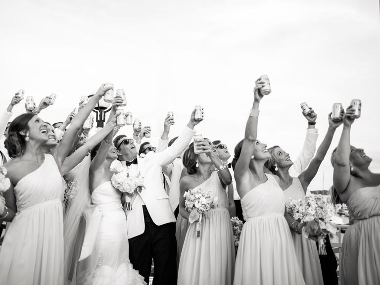 Pick The Right Party Wedding Day Toasts