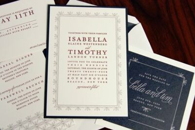 Invitations Paper In Washington Dc The Knot