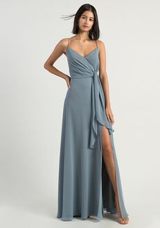 Jenny Yoo Collection (Maids) Amara V-Neck Bridesmaid Dress