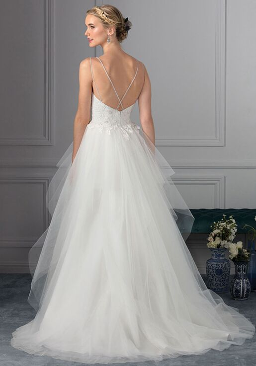 Beloved By Casablanca Bridal Bl235 Periwinkle Wedding Dress The Knot
