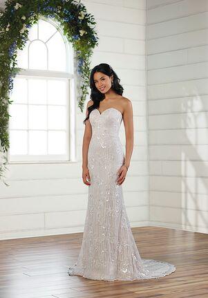 Essense of Australia D3062 Sheath Wedding Dress
