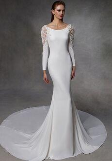 Badgley Mischka Bride Donna Mermaid Wedding Dress