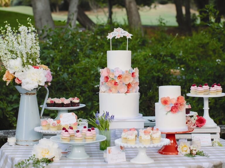 15 Wedding Dessert Table Ideas For Your Wedding Reception