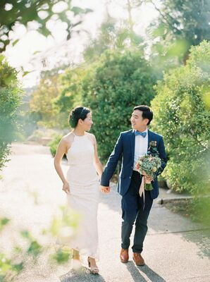 Simple, Romantic Garden Wedding