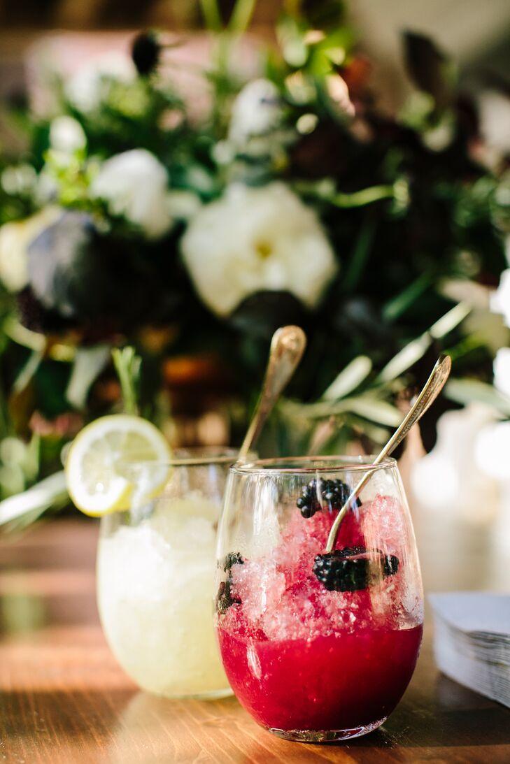 Frozen Blackberry Signature Cocktail