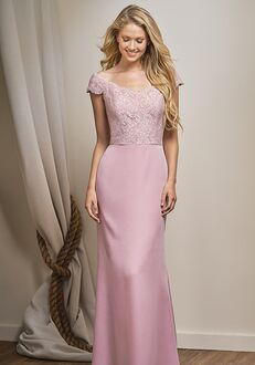 Belsoie Bridesmaids by Jasmine L204015 Off the Shoulder Bridesmaid Dress