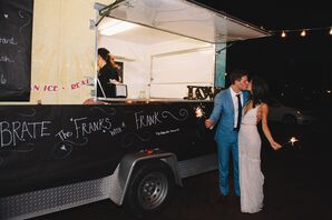 Late-Night Food Truck at Reception