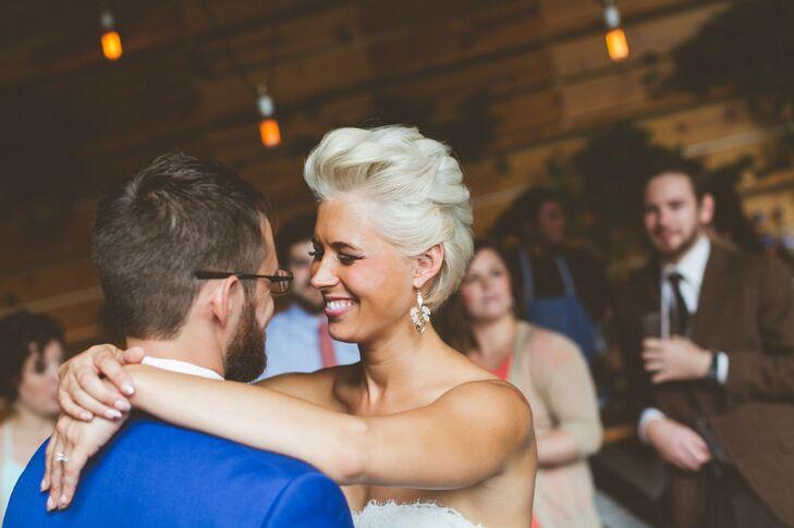 Modern, Short Bridal Hairstyle