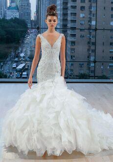 Ines Di Santo Carmine Mermaid Wedding Dress