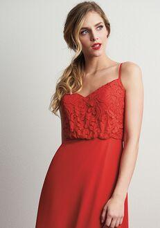 JASMINE P206060 V-Neck Bridesmaid Dress