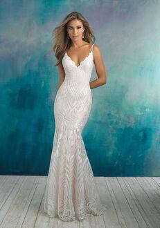 Allure Bridals 9508 Sheath Wedding Dress