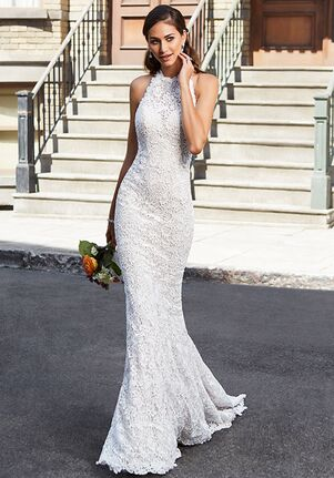 KITTYCHEN AIRA, H1859 Sheath Wedding Dress