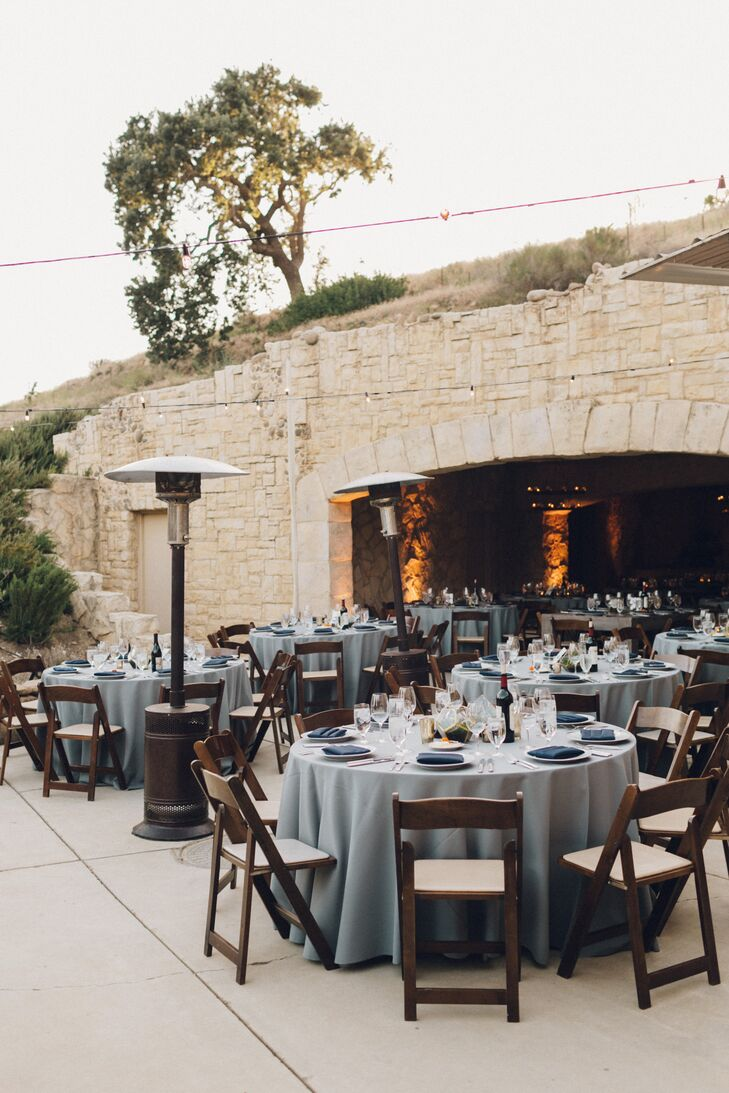 Indoor-Outdoor Reception at Sunstone Winery