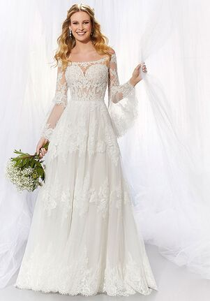 Morilee by Madeline Gardner/Voyage Abby A-Line Wedding Dress