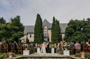 Estate Wedding Ceremony in Western Michigan