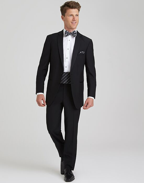 Allure Men Black Wedding Tuxedo - The Knot