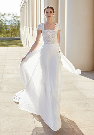 Rosa Clara Couture SALVIA Sheath Wedding Dress