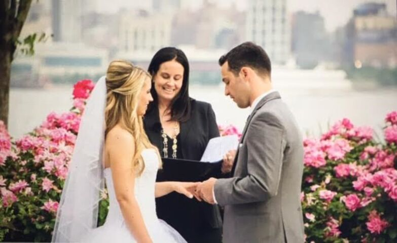 Rev Kris Bruno Wedding Officiant Wall Nj