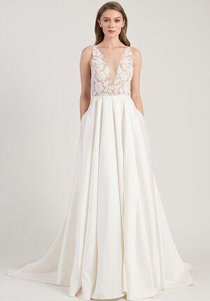 d3a90f6b32b V-Neck Wedding Dresses
