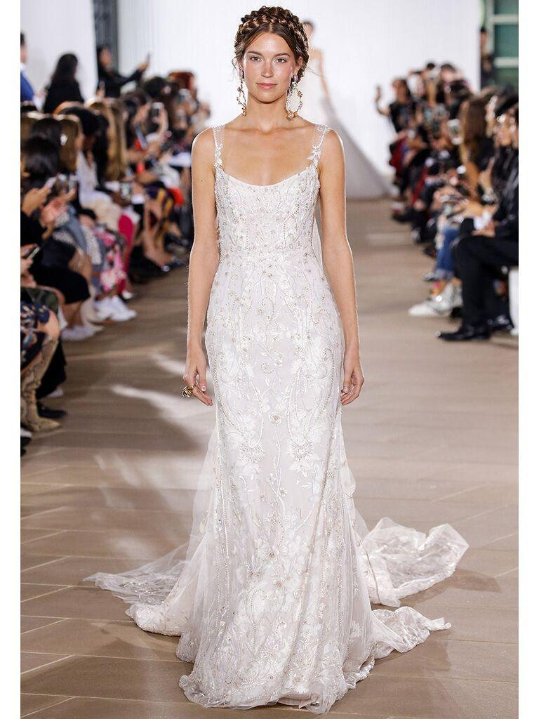 Ines Di Santo wedding dress sheath