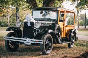 Vintage Ford Woody Wagon