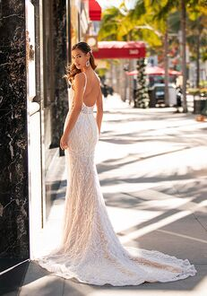 Moonlight Couture H1442 Mermaid Wedding Dress