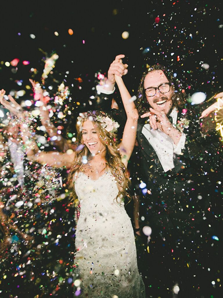 Creative Wedding Send Off Ideas: 18 Wedding Exit Ideas