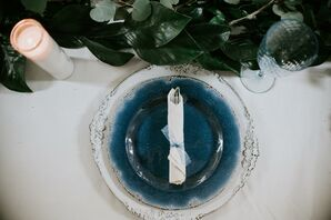 Vintage-Inspired Blue and White Dinnerware